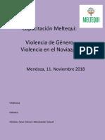 Capacitación Meltequi Violencia hacia las Mujeres