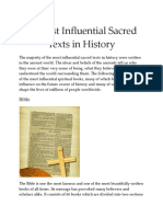10 Most Influential Sacred Texts in History.docx