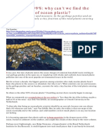 The Missing 99 Ocean Plastic Pollution Guardian Dec 2019