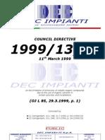 EU VOC Directive 1999.13.CE (EN-GU, 1999.03.11)