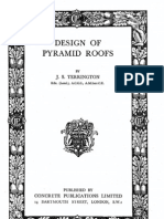 Design of Pyramid Roofs Terrington