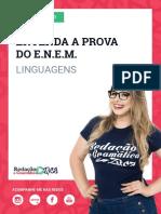 AULA 1 - Panorama da Prova - Linguagens - Profa.Pamba