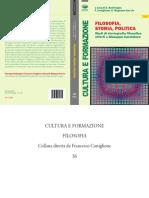 Filosofia Storia e Politica - Studi di storiografia filosofia offerti a Giuseppe Cacciatore