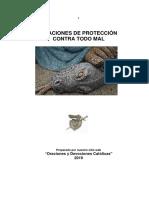 ORACIONES DE PROTECCION CONTRA TODO MAL