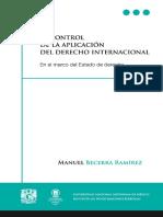 EL CONTROL DE LA APLICACIÓN DEL DERECHO INTERNACIONAL