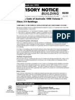 Building Code of Australia 1996 Volume 1 (May 2000)