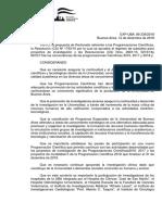 Resol. 1902-2018 Llamado Programación Científica año 2020