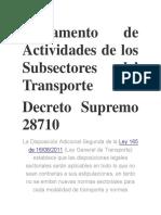 3.- Reglamento de Actividades de los Subsectores del Transporte.pdf