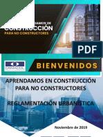 1- Reglamentación Urbanística