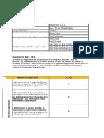 DIAGNOSTICO DE TEXTIL ISO 9001