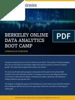 berkeley curriculum data analytics bootcamp