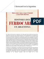 Historia del ferrocarril en la Argentina