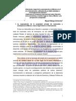 EL RÉGIMEN CONSTITUCIONAL Y LEGAL DE LA EXPROPIACIÓN EN MÉXICO