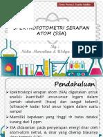 SPEKTROFOTOMETRI SERAPAN ATOM (SSA)