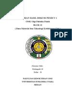 LAPORAN HASIL DISKUSI PEMICU 1 BLOK 11