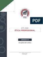UNIDAD III ETICA CESAR