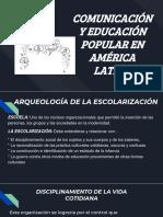 COMUNICACIÓN Y EDUCACIÓN POPULAR EN AMÉRICA LATINA
