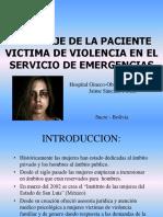 ABORDAJE DE PACIENTES VICTIMAS DE VIOLENCIA
