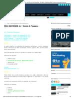 FÍSICA ELECTRÓNICA_ Act 1 Revisión de Presaberes - AYUDAS Y RESPUESTAS │ Examen Universitario Nacional