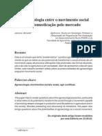 A Agroecologia Entre o Movimento Social e a Domes Ti Cacao Pelo Mercado