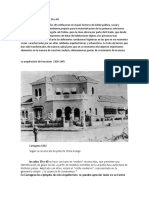 La arquitectura en los años 30 a 40