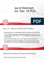 PCA Presentation - Abuse of Dominance 2.pptx