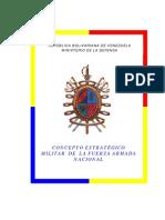 Ministerio Defensa Concepto Estrategico Militar