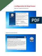 Instalación y configuración de Deep freezer