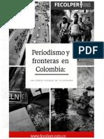 Periodismo y fronteras en Colombia