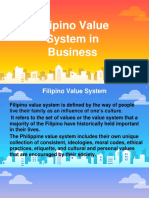 4. The Filipino Value System