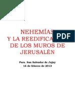 NEHEMÍAS Y LA REEDIFICACIÓN DE LOS MUROS DE JERUSALÉN versión para imprimir.pptx