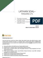 Latihan Soal Bab 6 Konsinyasi_150219
