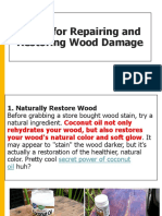 8 Tips for Repairing and Restoring Wood Damage.pptx