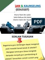 Bimbingan & kaunseling
