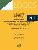 2 GAMBOA JORGE AUGUSTO 2015 LOS MUISCAS Y SU INCORPORACIÓN A LA MONARQUÍA CASTELLANA EN EL XVI