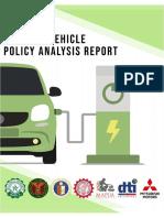 Philippine EV DRAFT REPORT August 2019