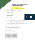 aplique el método de Newton  para obtener soluciones con una exactitud de 10