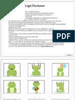 frog printables pdf