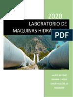 LABORATORIO DE MAQUINAS HIDRÁULICAS