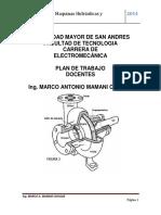 Plan de Trabajo de Maquinas Hidraulicas