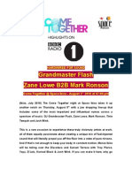 Come Together at Space Ibiza With Grand Master Flash Zane Lowe Mark Ronson 20100730