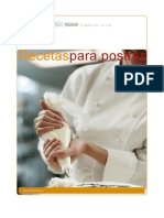 Nestlé - Recetas Para Postres