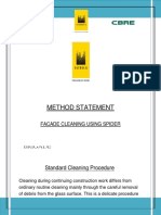 method statement Cleaning glass.docx