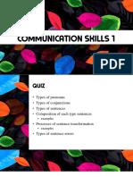 Communication Skills 1 (5)