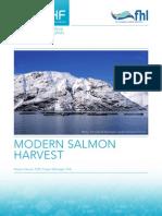 modern salmon farming