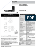 Controller GEFRAN 1600-1800V Manual