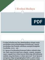 Teori Evolusi Budaya