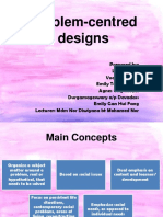 Problem-centred design