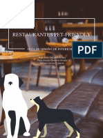 Mobiliario pet friendly