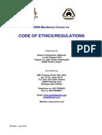 BEM Code of Ethics & Regulations -1